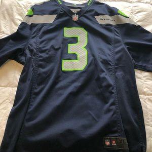 Authentic Seahawks Jersey #3/Wilson